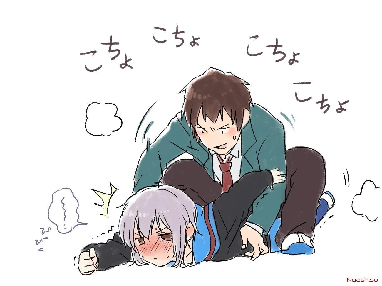 Tickling anime hentai clip